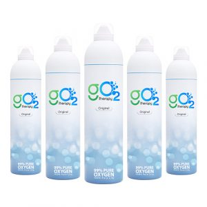 pack of 5 oxygen can